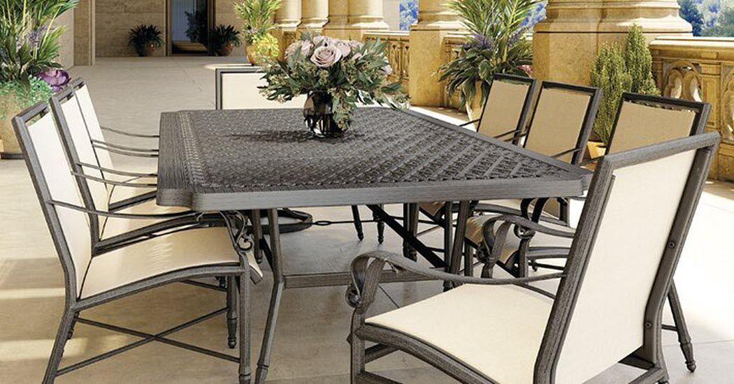 CASTELLE Salle à manger de jardin Tables de jardin Jardin Mobilier  |