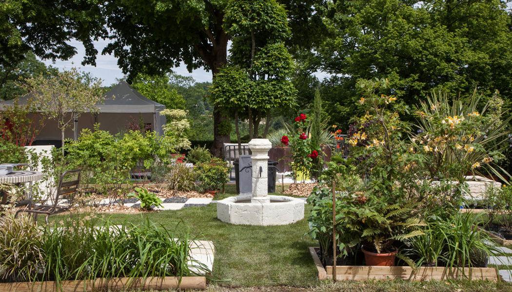 Alkern Fontaine centrale d'extérieur Fontaines Jardin Bacs Pots   