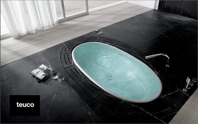 TEUCO Baignoire à encastrer Baignoires Bain Sanitaires Salle de bains | Design Contemporain