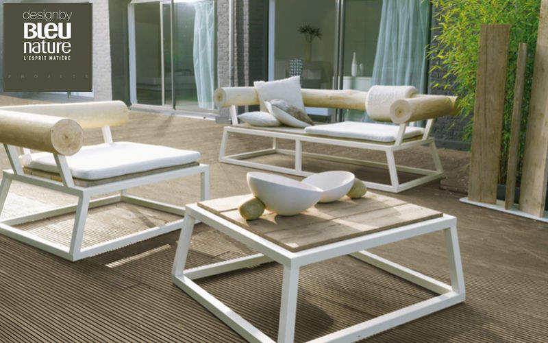 Bleu Nature Salon de jardin Salons complets Jardin Mobilier Terrasse | Contemporain