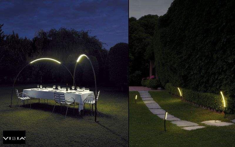 VIBIA Eclairage de chemin Luminaires de sol Luminaires Extérieur Jardin-Piscine |