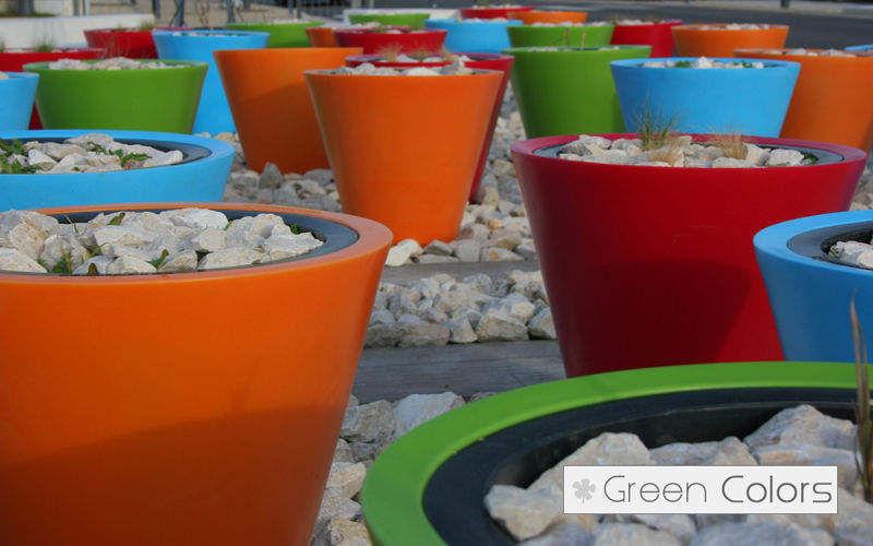 Green Colors Pot de jardin Pots de jardin Jardin Bacs Pots Jardin-Piscine  