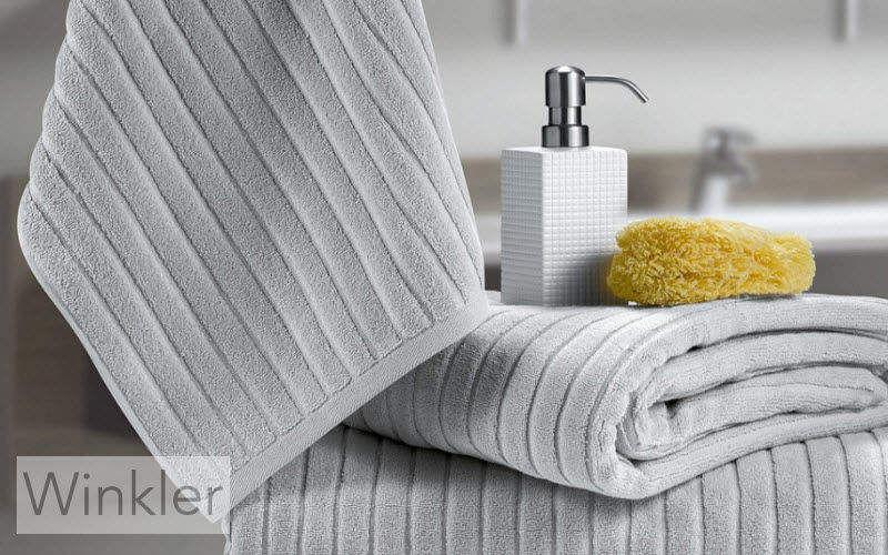 WINKLER Serviette de toilette Linge de toilette Linge de Maison Salle de bains | Design Contemporain