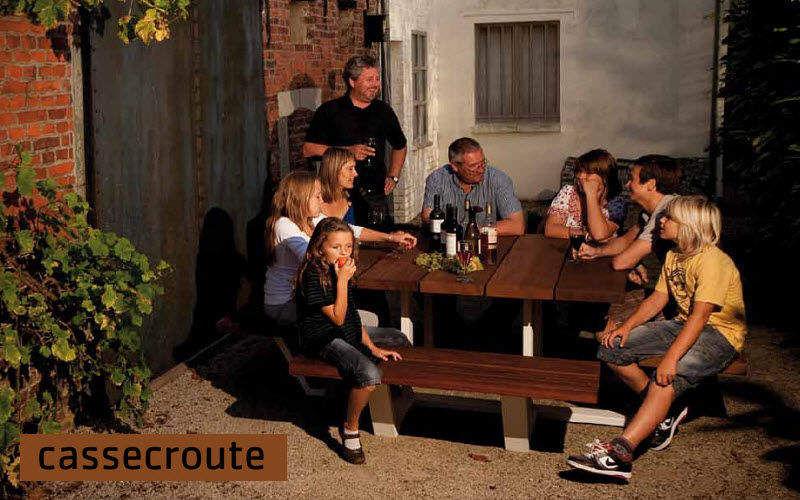 Cassecroute Table de jardin Tables de jardin Jardin Mobilier Terrasse | Design Contemporain
