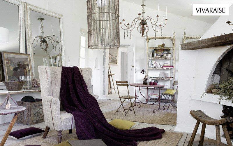 VIVARAISE Plaid Couvre-lits Linge de Maison Salon-Bar | Décalé
