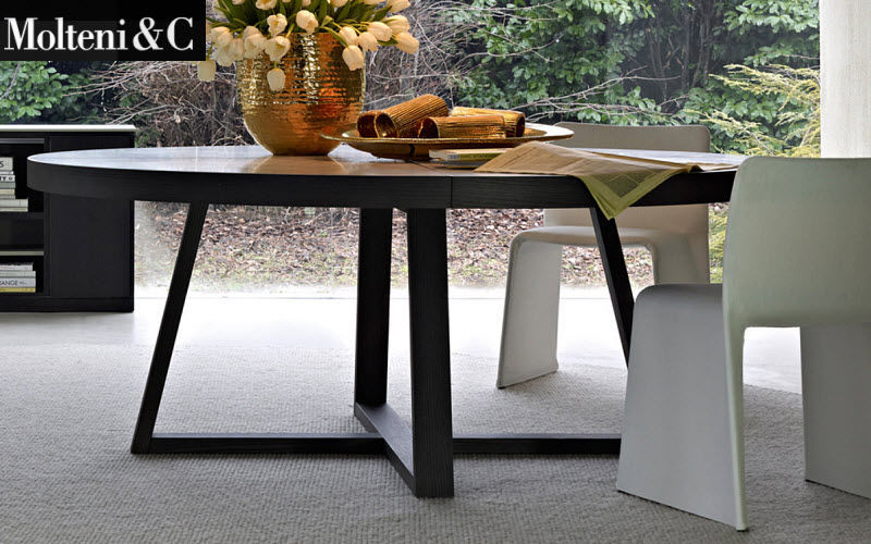 Molteni & C Table de repas ronde Tables de repas Tables & divers  |