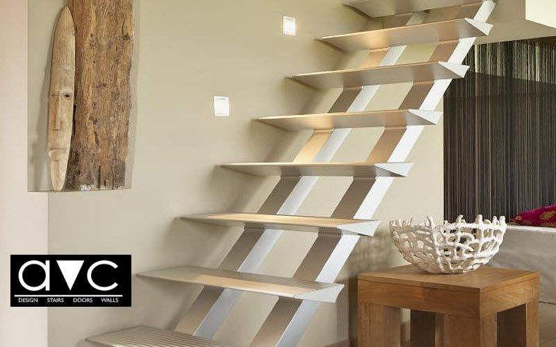 Avc Escalier droit Escaliers Echelles Equipement Entrée | Design Contemporain