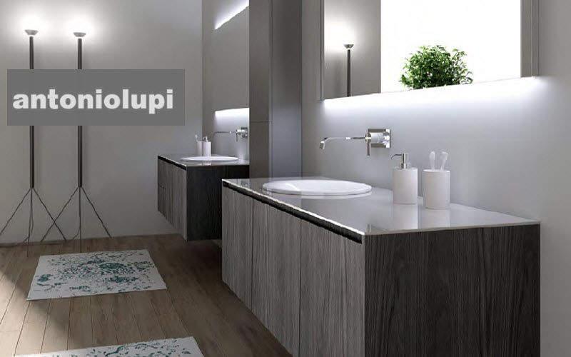 Salle de bains style design contemporain decofinder for Meuble de salle de bain contemporain