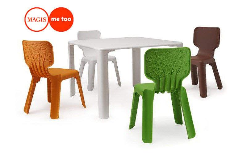 Magis Table de jardin Enfant Tables Bureaux Enfant Enfant Jardin-Piscine | Design Contemporain