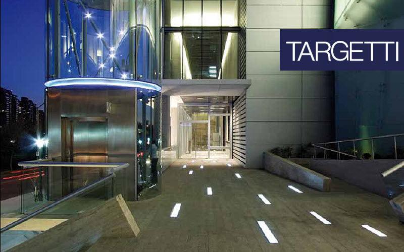 Targetti Spot encastré de sol Spots Luminaires Intérieur Espace urbain | Contract