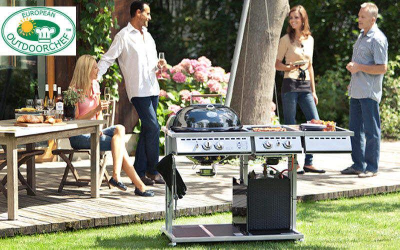 OUTDOORCHEF Barbecue au gaz Barbecues Extérieur Divers Terrasse | Contemporain