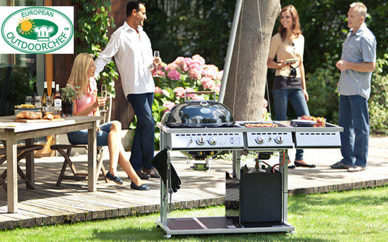 OUTDOORCHEF Barbecue au gaz Barbecues Extérieur Divers Terrasse | Design Contemporain