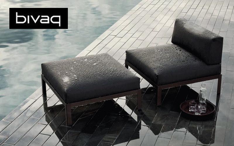 BIVAQ Chaise longue de jardin Chaises longues Jardin Mobilier  |