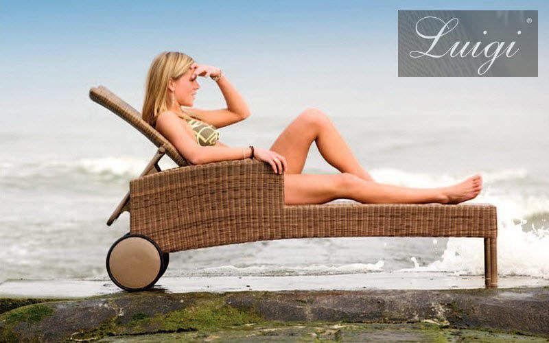 LUIGI Chaise longue de jardin Chaises longues Jardin Mobilier Jardin-Piscine |