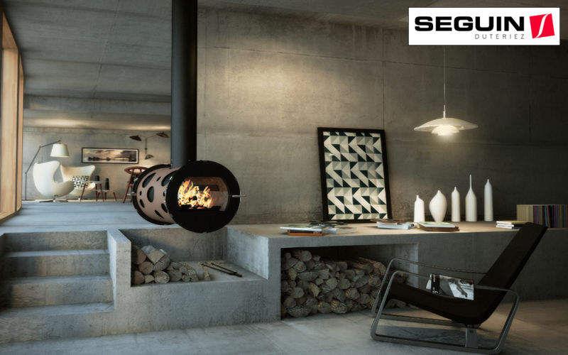Seguin Duteriez Cheminée centrale Cheminées Cheminée Entrée | Design Contemporain
