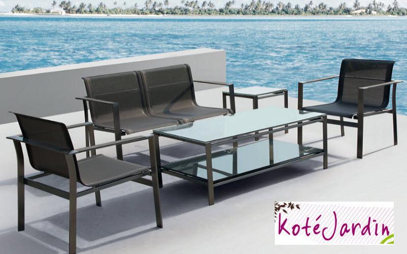 KOTE JARDIN Salon de jardin Salons complets Jardin Mobilier Terrasse | Design Contemporain
