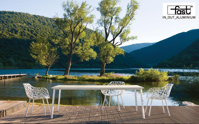 FAST Chaise de jardin Chaises de jardin Jardin Mobilier Terrasse | Contemporain