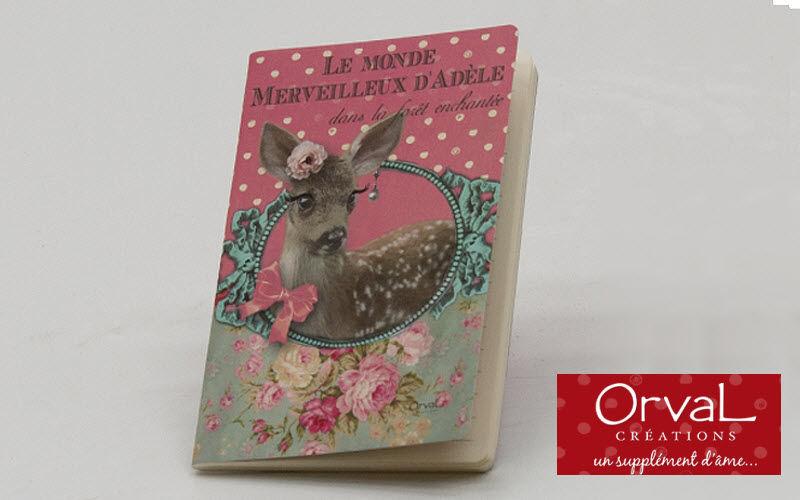 Orval Creations Carnet de notes Papeterie Ecriture Papeterie Accessoires de bureau Bureau | Charme