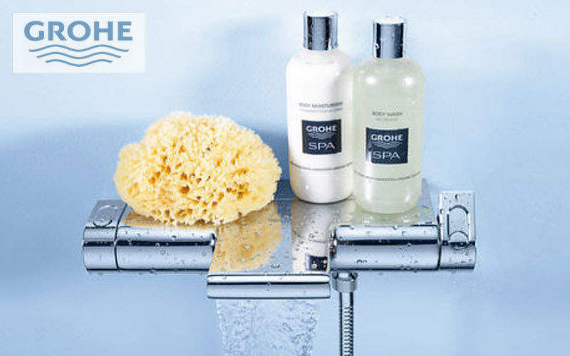 Grohe Mitigeur Thermostatique bain Robinetterie Bain Sanitaires  |