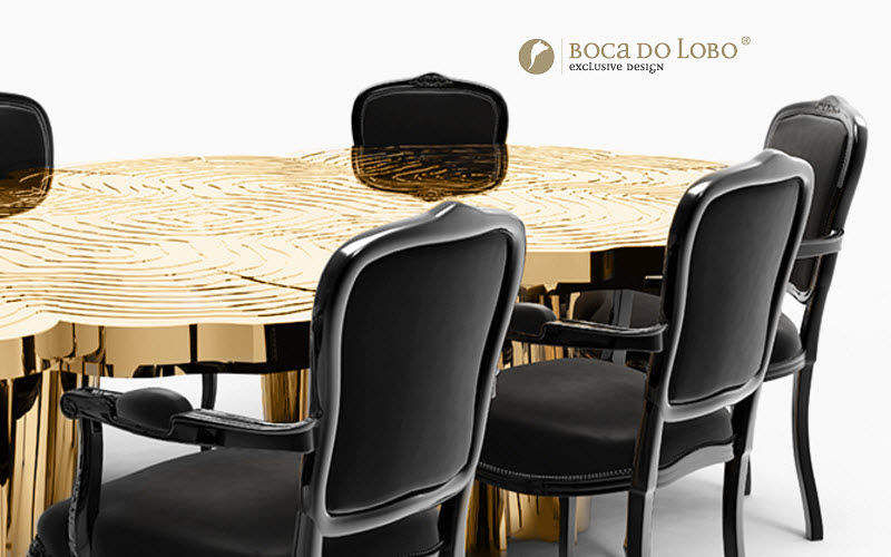 BOCA DO LOBO Table de repas ronde Tables de repas Tables & divers  |