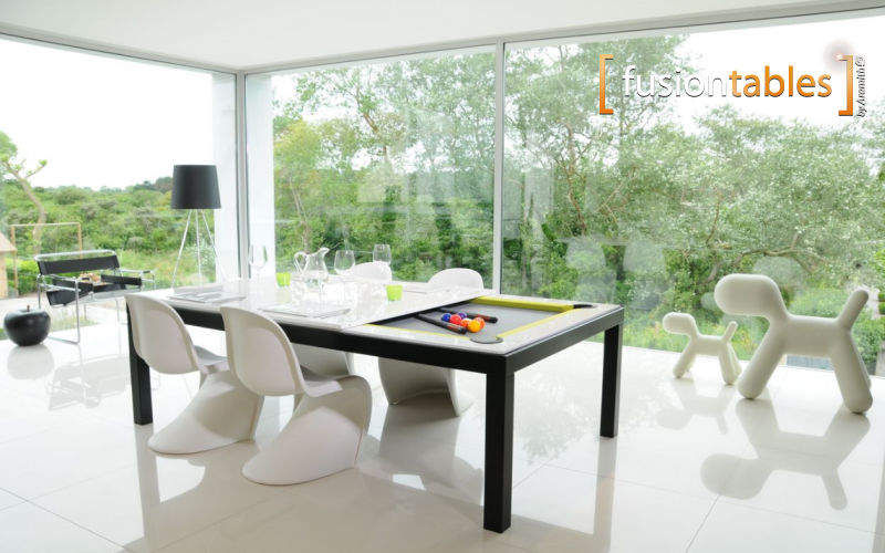 FUSIONTABLES Billard de salon Billards Jeux & Jouets Terrasse | Design Contemporain