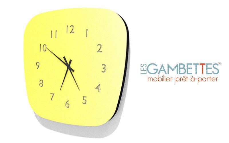 LES GAMBETTES Horloge de cuisine Horloges de cuisine Cuisine Accessoires  |