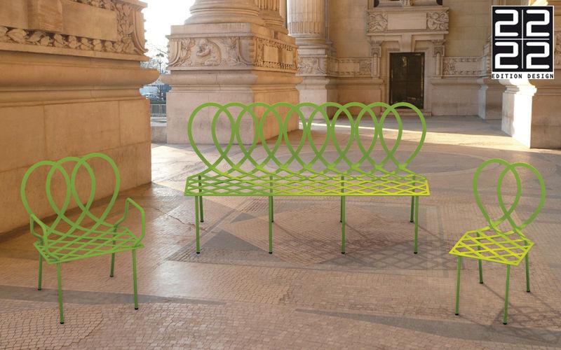 22 22 EDITION DESIGN Chaise de jardin Chaises de jardin Jardin Mobilier  |
