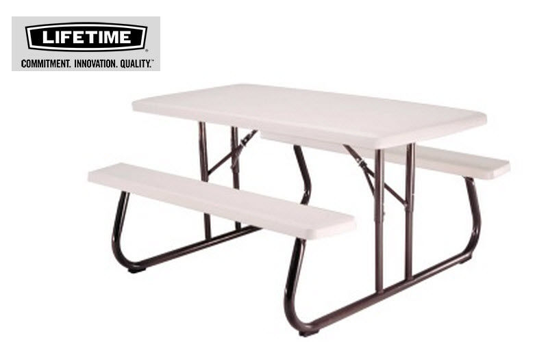 Lifetime Table pique-nique Tables de jardin Jardin Mobilier  |