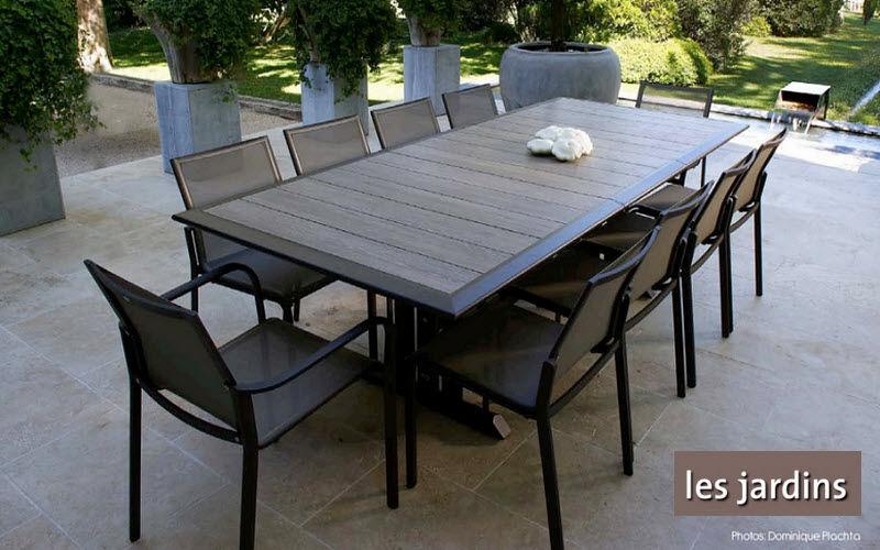 Les Jardins Salle à manger de jardin Tables de jardin Jardin Mobilier  |