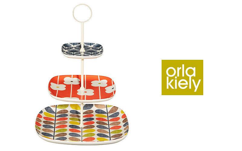 Orla Kiely Plateau à étages Cocktail et apéritif Accessoires de table  |