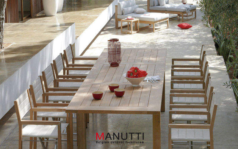 MANUTTI Table de jardin Tables de jardin Jardin Mobilier  |