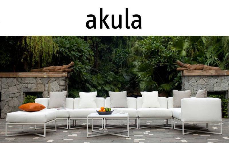 AKULA Salon de jardin Salons complets Jardin Mobilier   