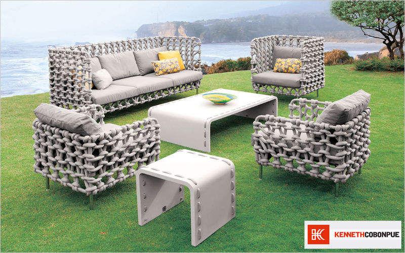 KENNETH COBONPUE Salon de jardin Salons complets Jardin Mobilier  |