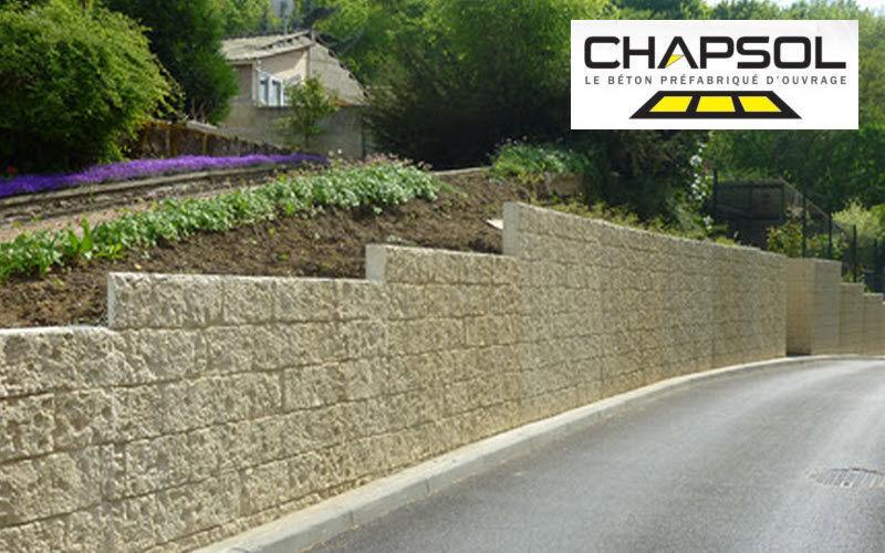 CHAPSOL Mur - muret Clôtures Bordures Jardin Abris Portails...  |