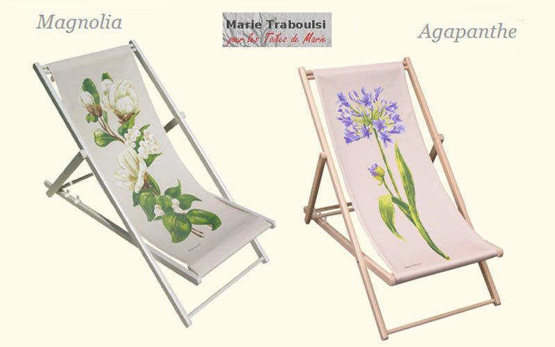 Toiles de Marie Toile de transat Fauteuils d'extérieur Jardin Mobilier  |