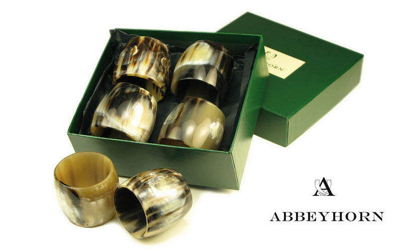 Abbeyhorn Rond de serviette Divers Accessoires de table Accessoires de table  |