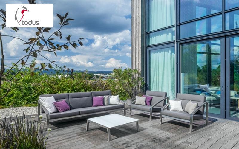 TODUS Salon de jardin Salons complets Jardin Mobilier   