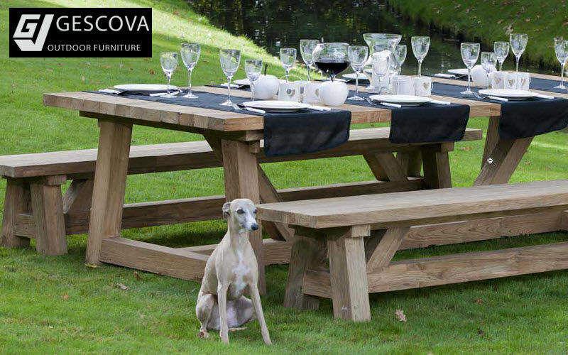 GESCOVA Table de jardin Tables de jardin Jardin Mobilier  |