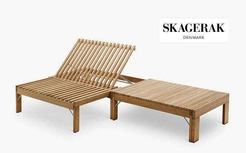 skagerak Chaise longue de jardin Chaises longues Jardin Mobilier  |
