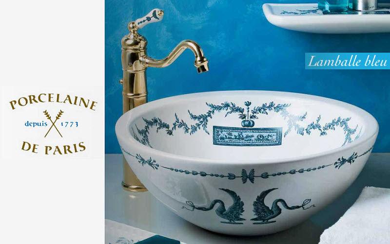 Porcelaine De Paris Vasque à poser Vasques et lavabos Bain Sanitaires  |