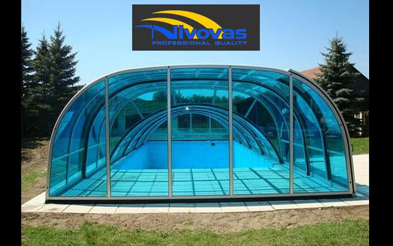 NIVO VAS Abri de piscine haut coulissant ou télescopique Abris de piscine et spa Piscine et Spa  |