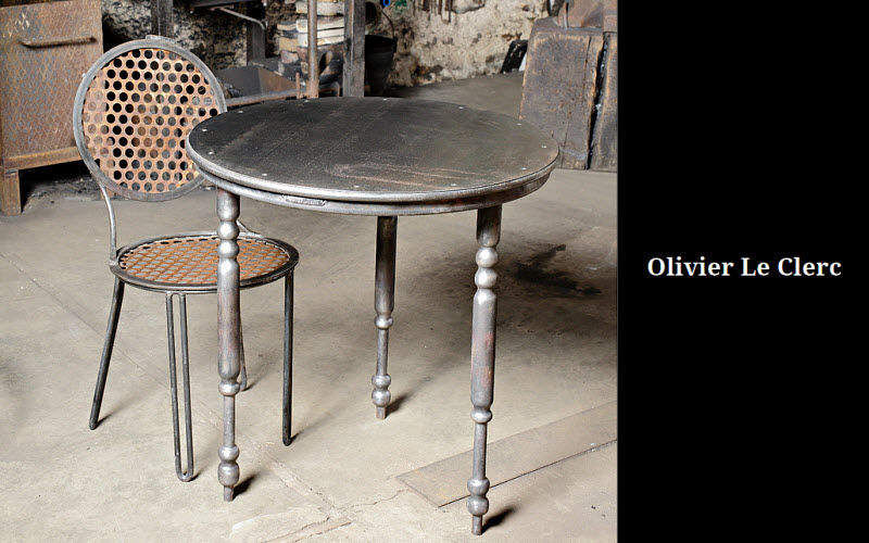 OLIVIER LE CLERC Table bistrot Tables de repas Tables & divers  |