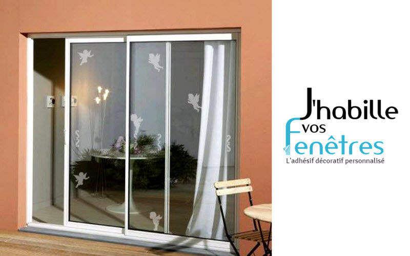 J'HABILLE VOS FENETRES Film adhésif décoration Films Portes et Fenêtres  |
