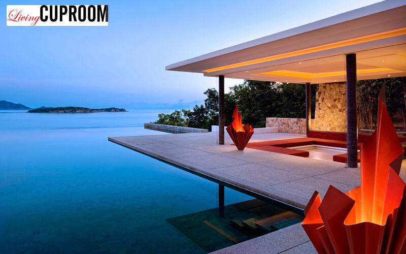 CUPROOM Lampe de jardin Luminaires de sol Luminaires Extérieur Terrasse | Design Contemporain