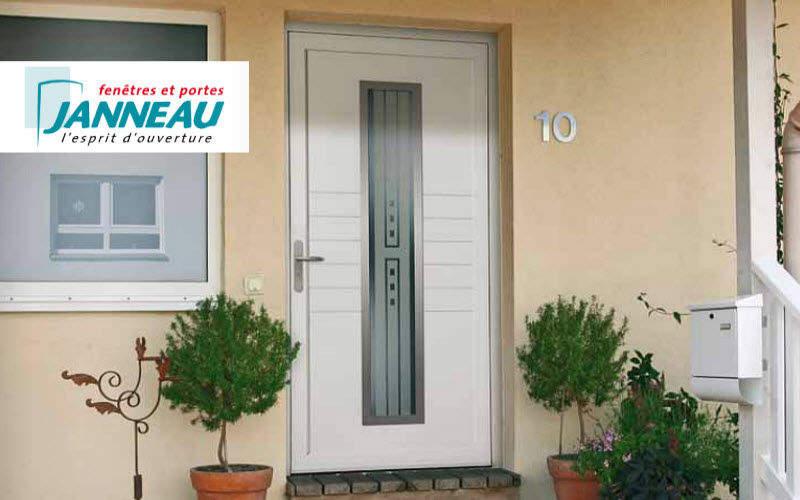Janneau Menuiseries Porte d'entrée vitrée Portes Portes et Fenêtres  |