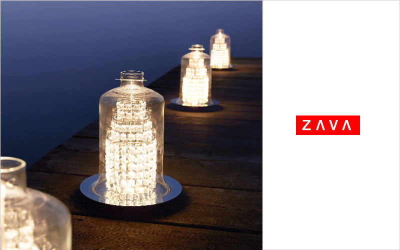 ZAVA Lampe de jardin à LED Luminaires de sol Luminaires Extérieur  |