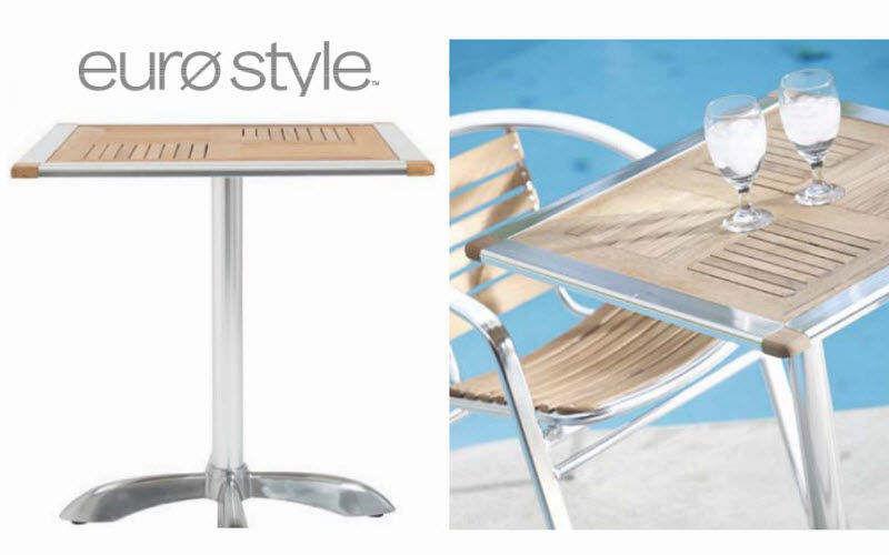 Euro Style Table de jardin Tables de jardin Jardin Mobilier  |