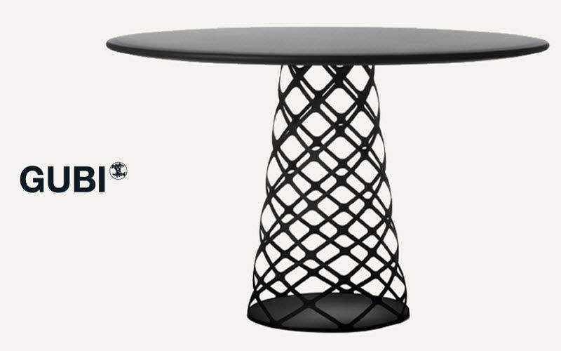 Gubi Table de repas ronde Tables de repas Tables & divers  | Design Contemporain