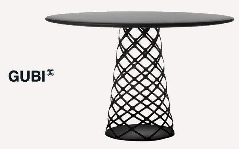 Gubi Table de repas ronde Tables de repas Tables & divers  | Design Contemporain