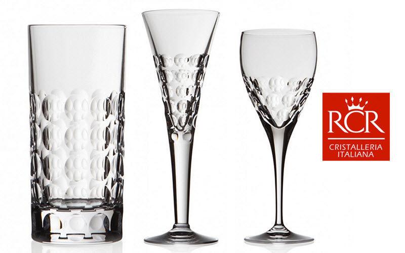 RCR CRISTALLERIA ITALIANA Service de verres Services de verres Verrerie  |